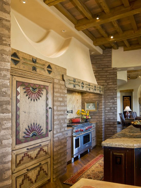 Bess Jones Interiors S Design Southwestern Kitchen Rustic Country Kitchens Southwest Decor