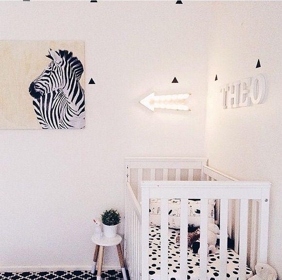 Monochrome Nursery Kmart Australia Style Home