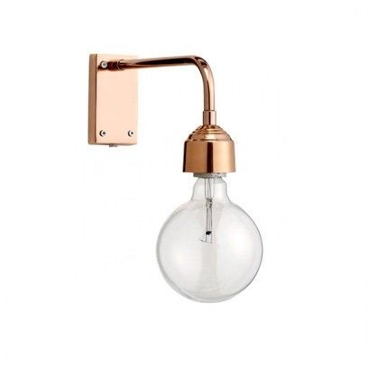 Chic copper home accessories | Gold wall lights, Copper ...