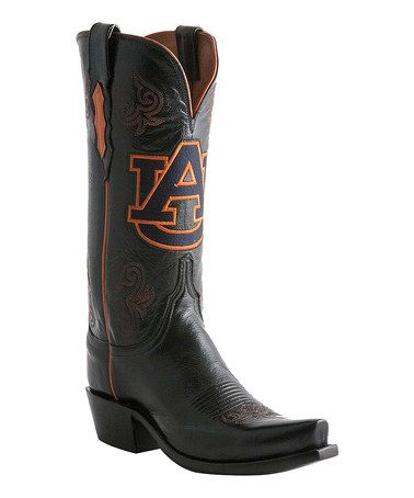 29974985576 This Auburn Tigers Leather Cowboy Boot - Women by Lucchese is ...