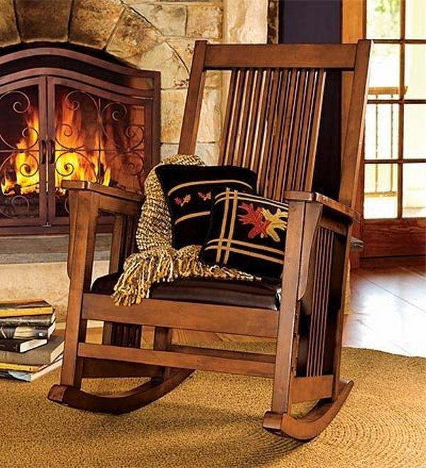 Elegant Deluxe Mission Rocker Mission Style Furniture Craftsman
