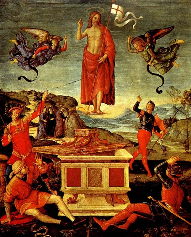 Raphael ressurection of christ 1502 art i pinterest raphael ressurection of christ 1502 fandeluxe Gallery