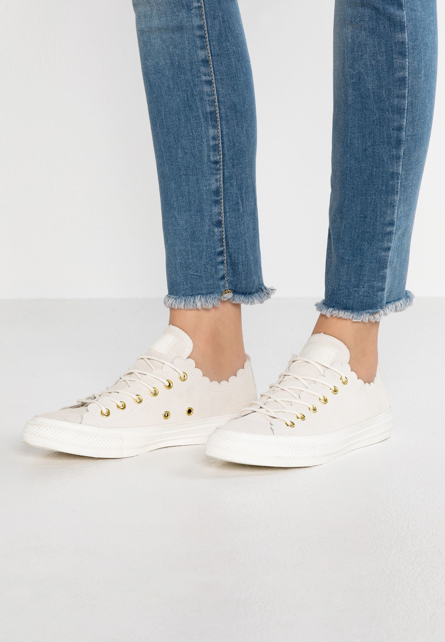 info for 2fe26 b846f CHUCK TAYLOR ALL STAR - Sneaker low - egret/gold @ Zalando ...