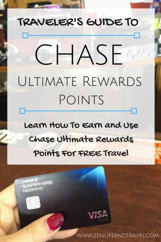 How To Earn and Use Chase Ultimate Rewards Points For Free Travel | Award Travel Tips | Travel Hacking Tips | Chase Ultimate Rewards Points