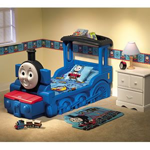 Thomas The Tank Engine Toddler Bed.Little Tikes Thomas The Tank Engine Bed Bb In 2019 Train