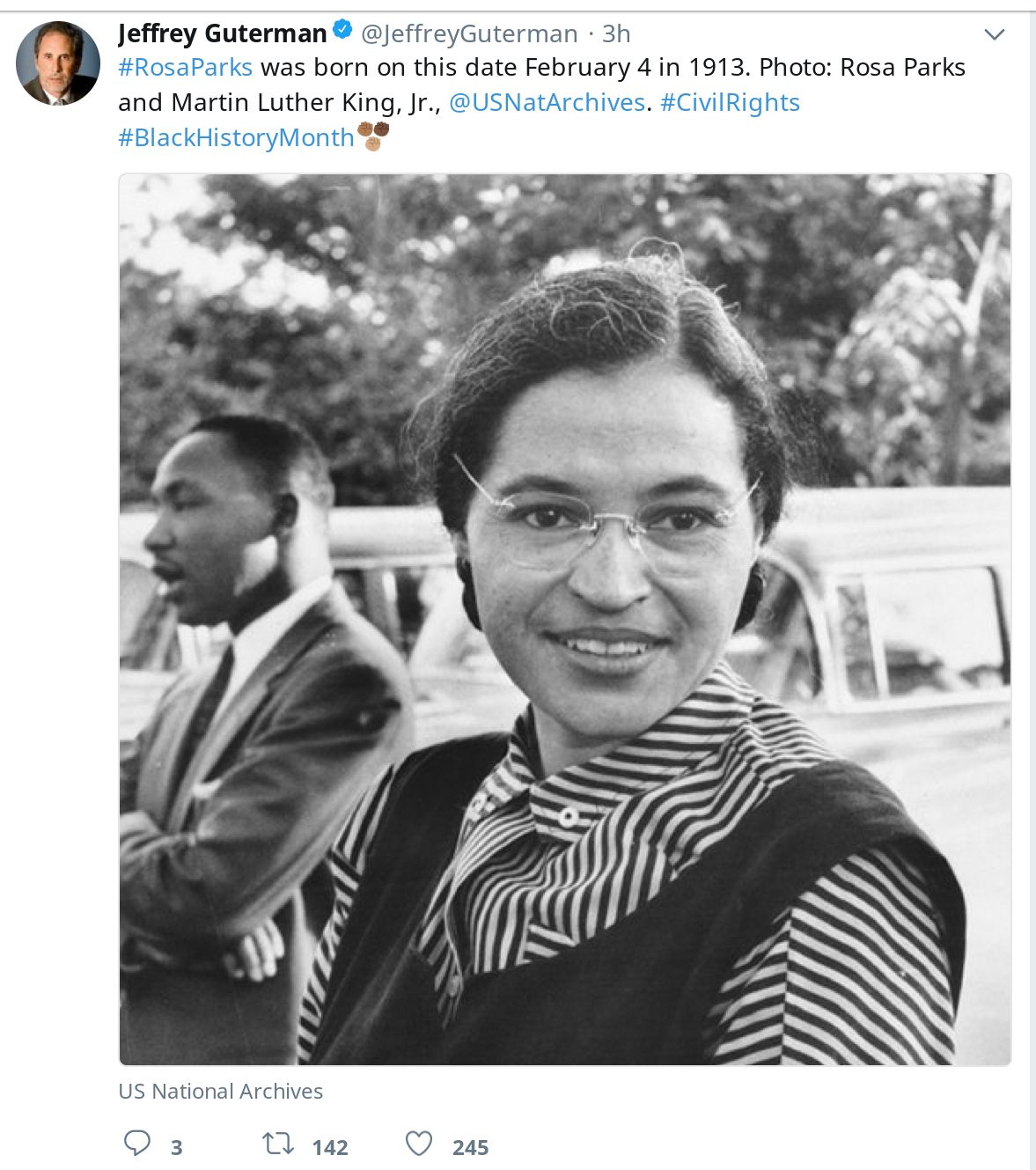 Rosaparks Was Born On This Date February 4 In