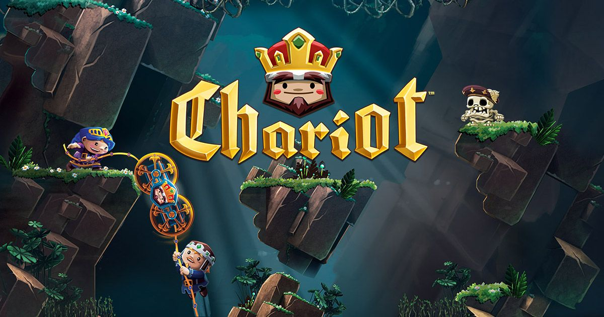 Chariot is a humoristic coop platformer in which a