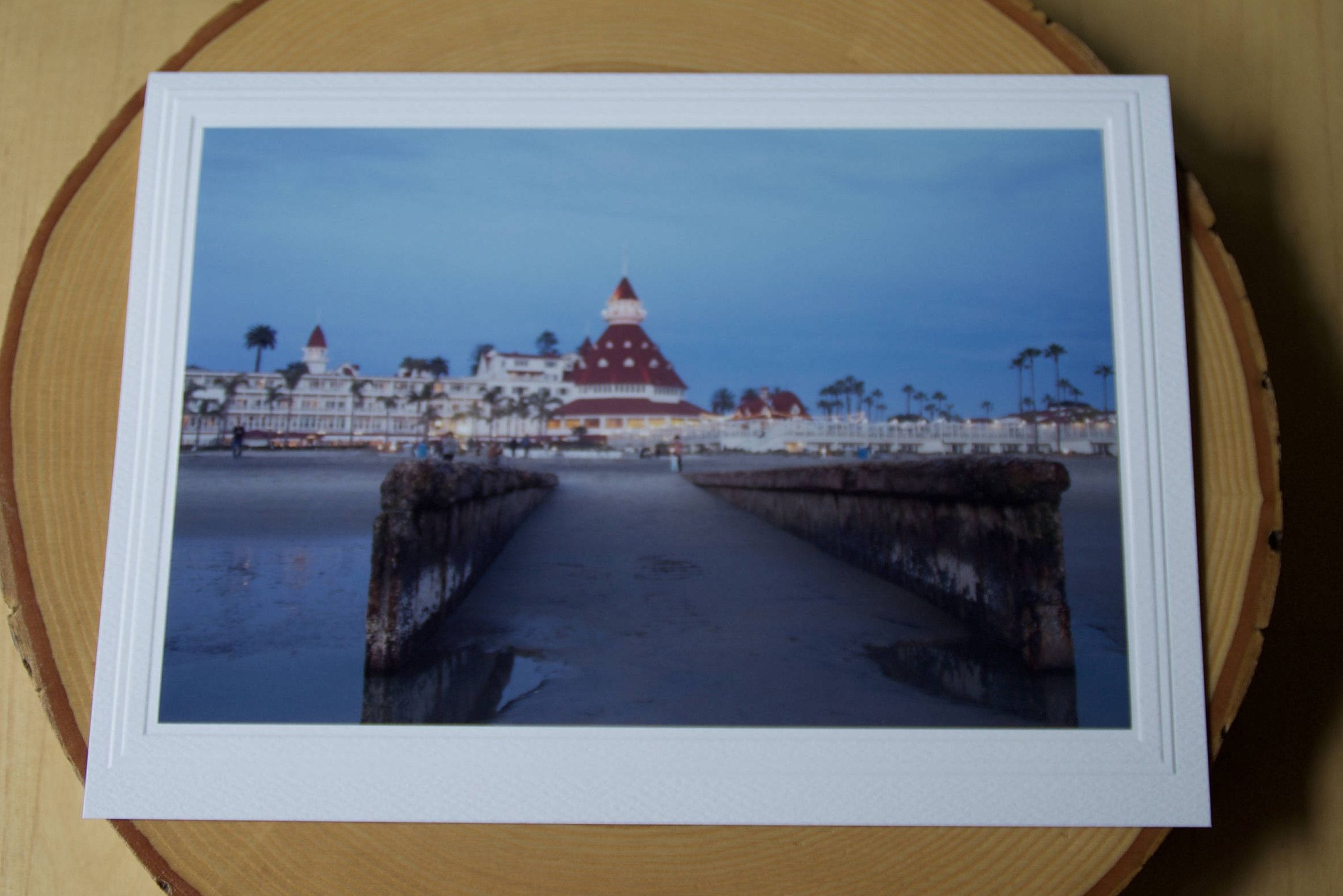 Photo greeting card photography card del coronado hotel photo greeting card photography card del coronado hotel ocean pier san diego kristyandbryce Images