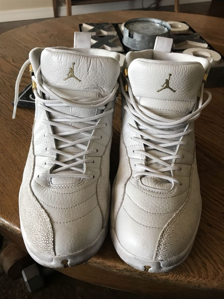ba63f5b0711834 air jordan retro 12 ovo white  fashion  clothing  shoes  accessories   mensshoes  athleticshoes (ebay link)