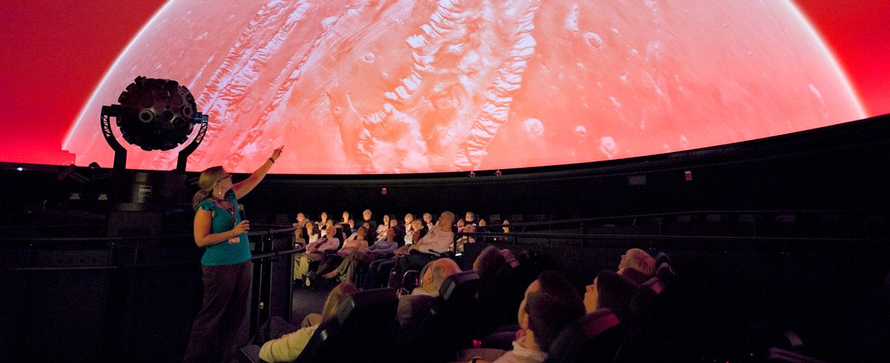 The Museum of Science, Boston features a revolving schedule of temporary  exhibits, IMAX films, and Planetarium shows.