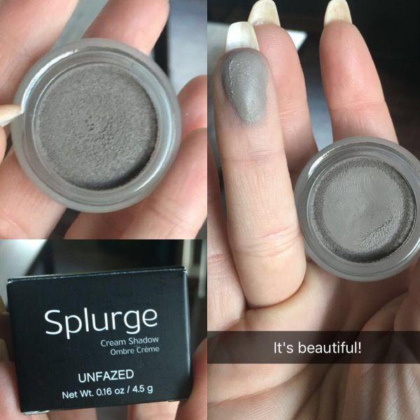 Eyelash Extensions The Splurge You Deserve: Unfazed Splurge Cream Shadow By Younique!
