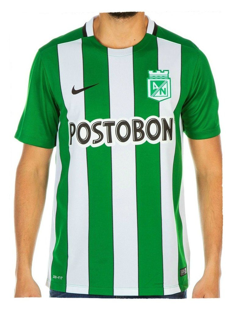 Camiseta Nike M C Oficial Atlético Nacional 2016  63701ece5fbb4