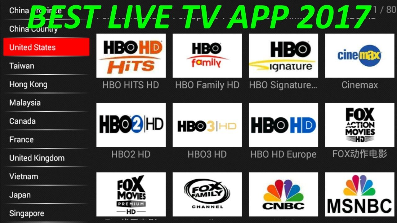 THE BEST FREE LIVE TV IPTV APP FOR ANDROID 2017 BETTER