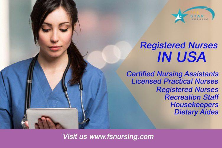 Registered Nurses In Usa Registered Nurse Rn Nurse Nursing