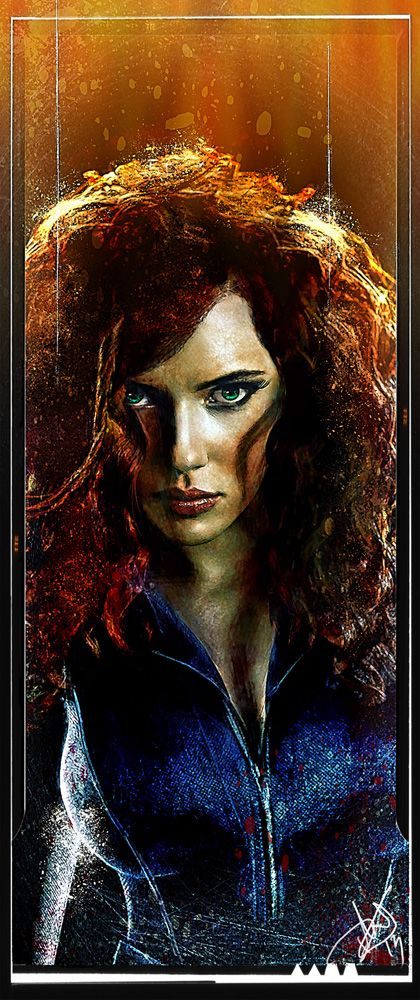 Black Widow - Daniel Scott Gabriel Murray
