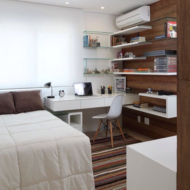 decoration #bureau #chambre #eames | What A Nice Bedroom | Pinterest ...