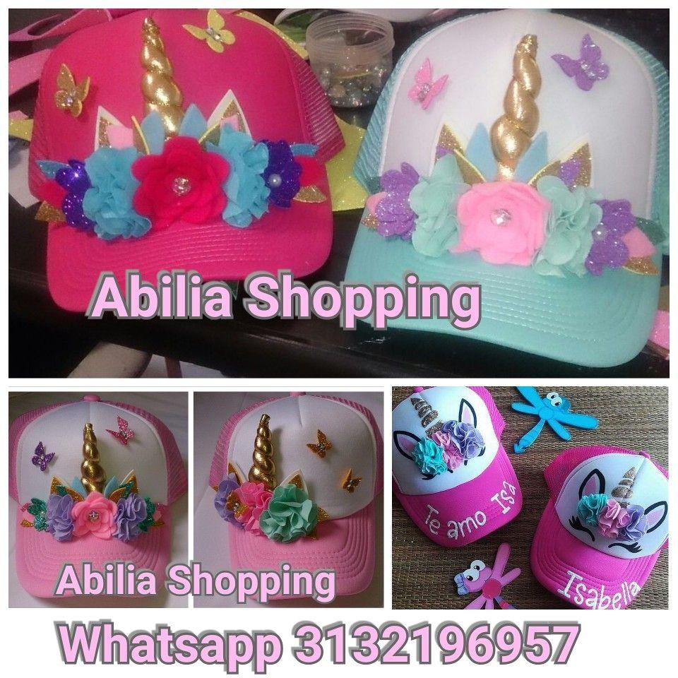 Gorras personalizadas unicornio mujer niñas Mamá e hija Abilia Shopping  Whatsapp 3132196957 f5f3d10fc71
