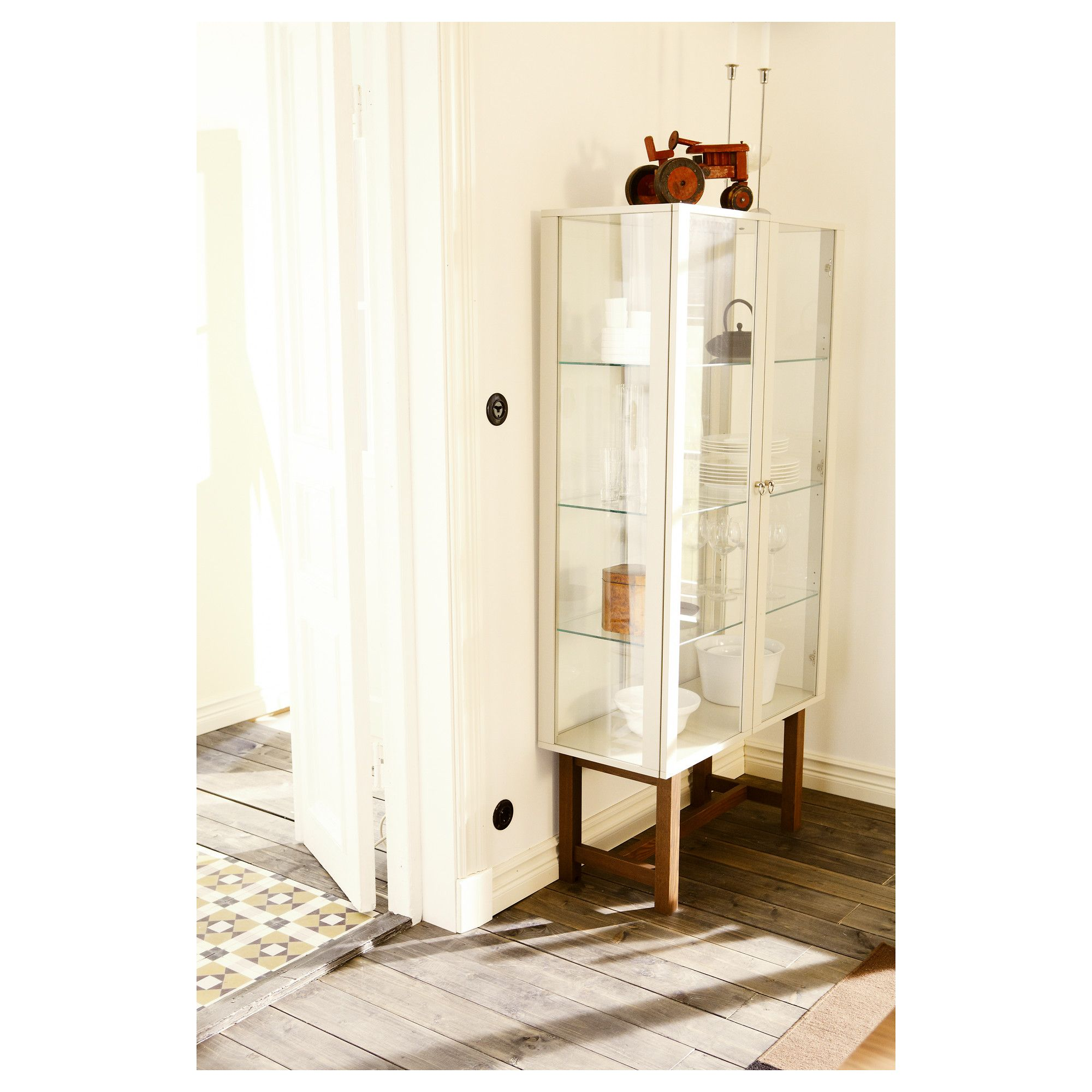 Ikea Stockholm Glass Door Cabinet