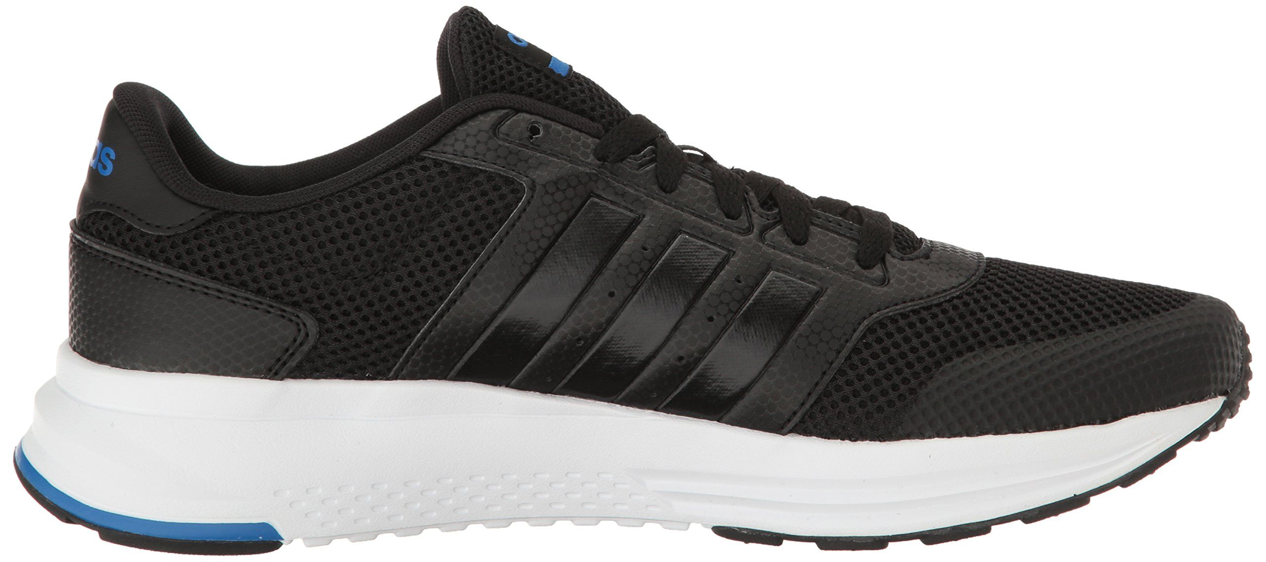 huge selection of 45b42 9bb66 adidas NEO Mens Cloudfoam Saturn Running Shoe BlackBlackBlue 12 M US   Read more reviews of the product by visiting the link on the image.