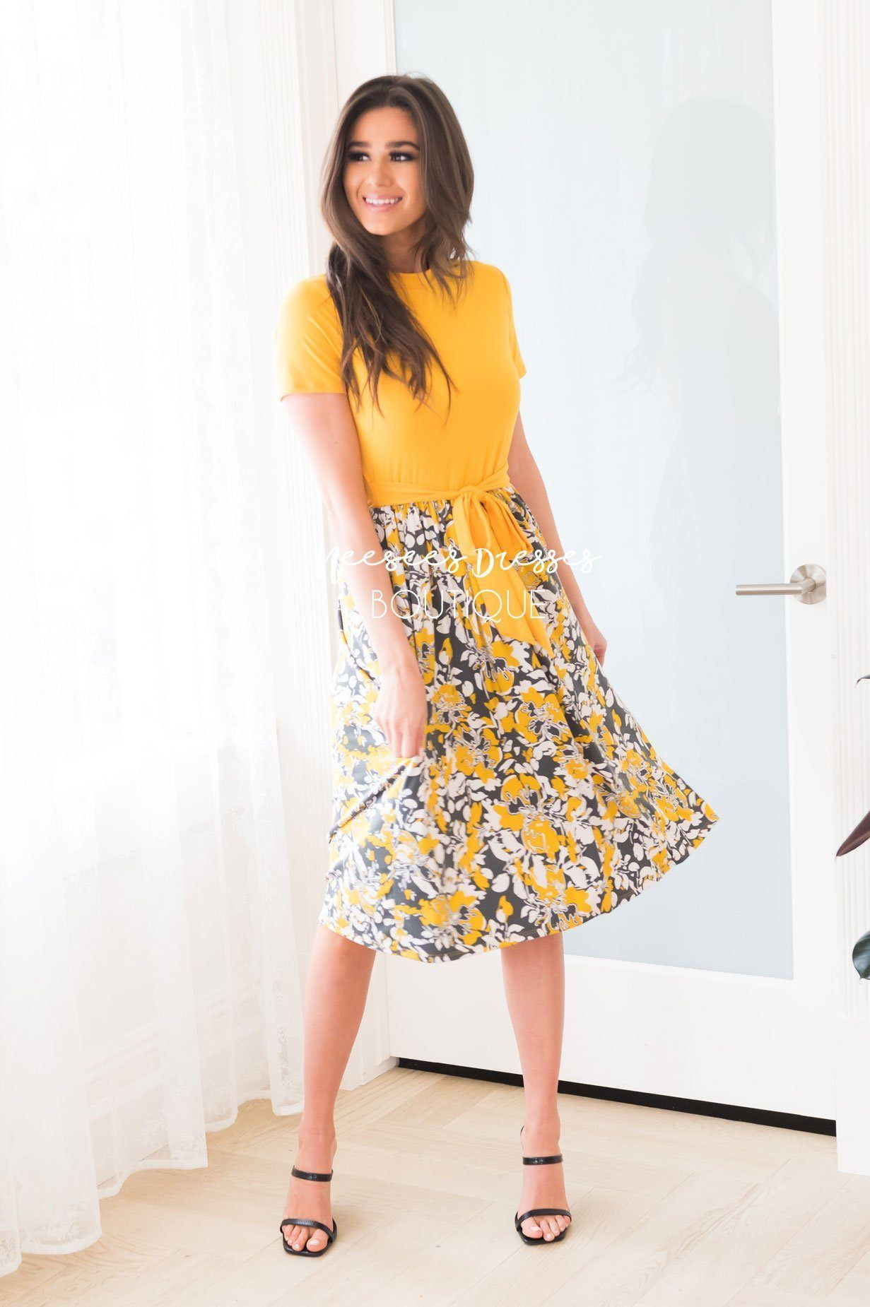 The Delta Modest Mid Length Dress Neesee S Dresses Modest Fashion Christian Modest Dresses Modest Outfits [ 1850 x 1231 Pixel ]