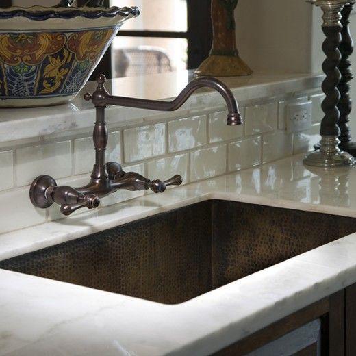 Hacienda Spanish Kitchen Copper Kitchen Sink Copper Kitchen Undermount Kitchen Sinks