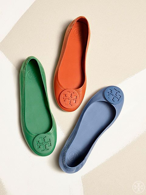 c405f3cbb6b Tory Burch Outlet · Introducing the Minnie Travel Ballet The effortless chic  of a flat