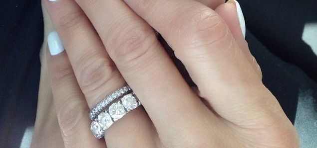 Gorgeous Wedding Ring Stack By Brooke Burke Gorgeous Wedding Rings