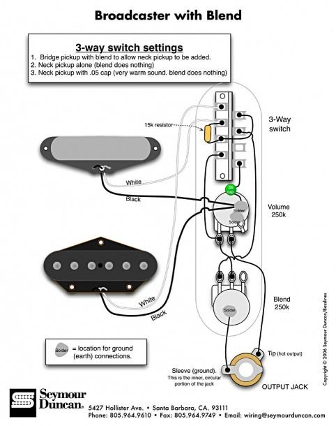 4 Way Tele Wiring Diagram from i.pinimg.com