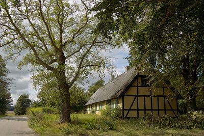 an old farm just outside of nyka¸bing falster denmark this is the