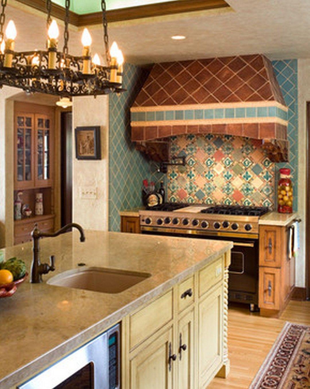 Spanish Style Kitchen Decor Spanish Tile Kitchen Decorating Ideas 99 Gorgeous Photos