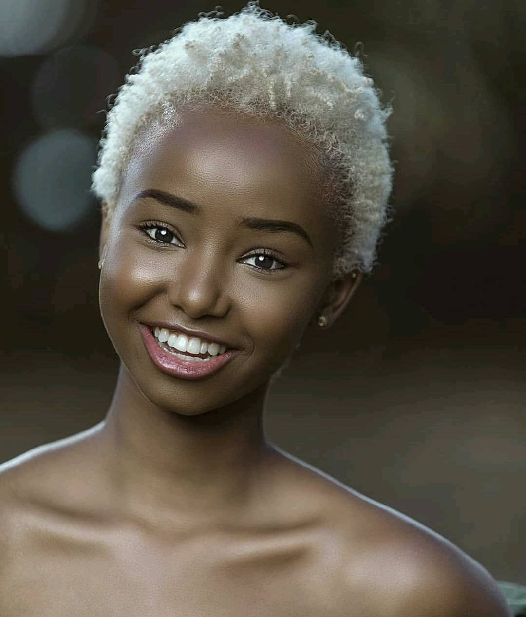 African Fashion On Instagram Melanin Natural Hair Styles Blonde Hair Black Girls Melanin Beauty