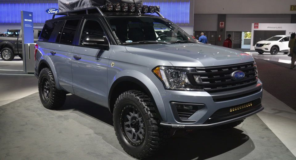 Ford Expedition Baja Forged Adventurer Winks At Raptor Loving Families Carscoops In 2020 Ford Expedition Ford Trucks Ford Suv