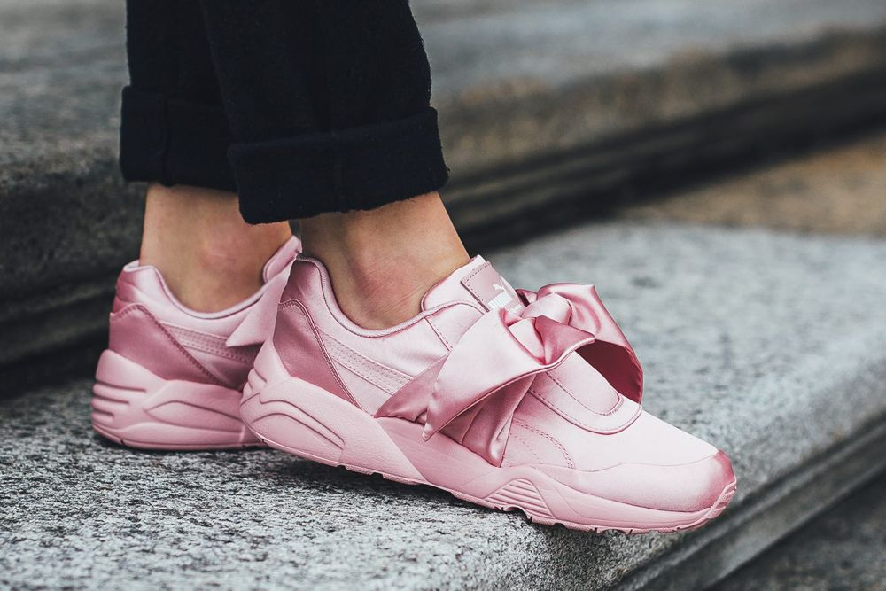 pumashoes$29 on | lOoKBoOk | Bow sneakers, Bow shoes