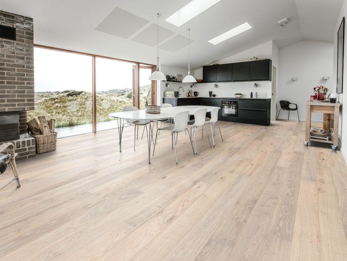 Kahrs oak nouveau blonde is a contemporary floor with a white kahrs oak nouveau blonde is a contemporary floor with a white stain and few knots dailygadgetfo Images