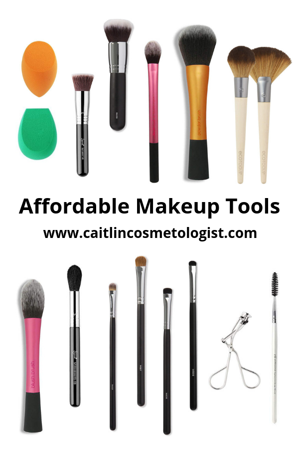 Affordable Makeup Tools
