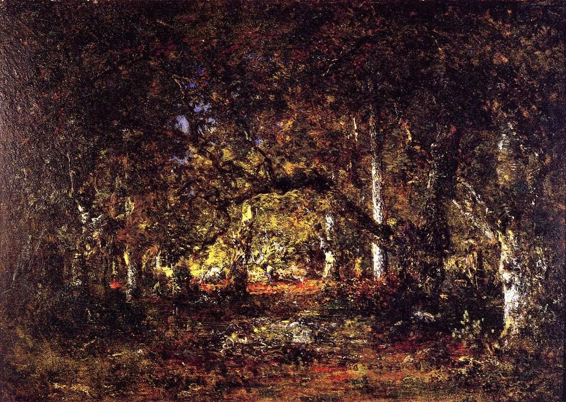 Inside The Forest 1857 By Theodore Rousseau Realism Landscape Theodore Rousseau Thinking In Pictures Landscape