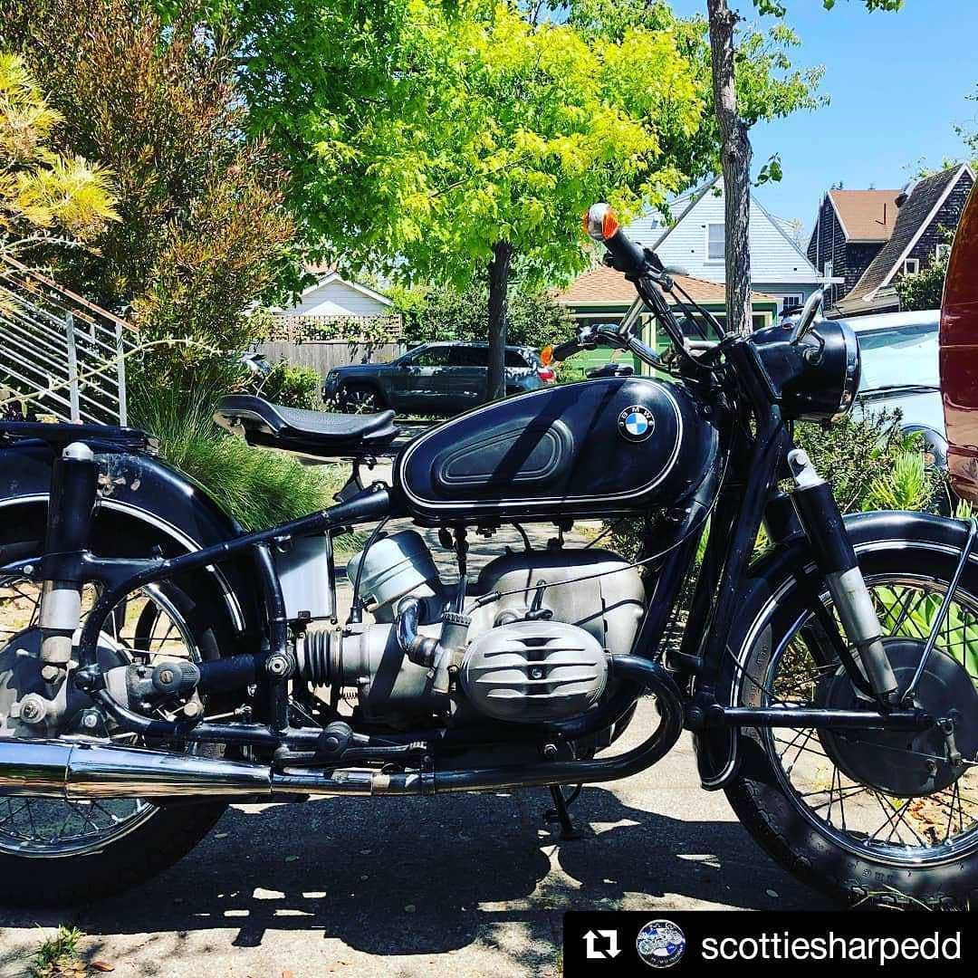 Sold Forsaleatscottiesworkshop R60 2 Serviced At Scottiesworkshop Ready To Ride 11000 Firm Bmw Motorcycle Vintage Scottie Riding