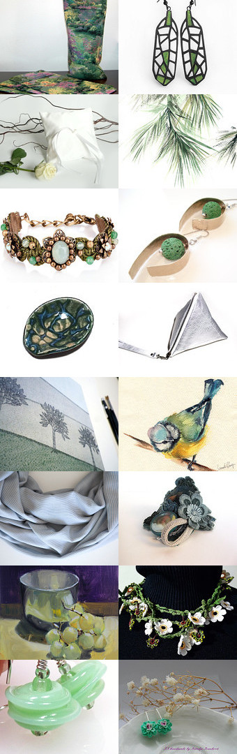 Green by Laura P. on Etsy--Pinned with TreasuryPin.com