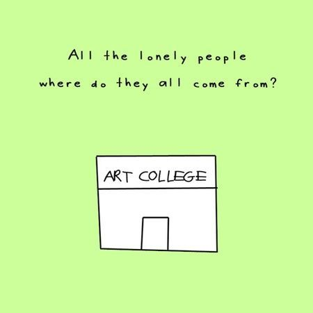 All the lonely people funny quotes quote art lonely funny