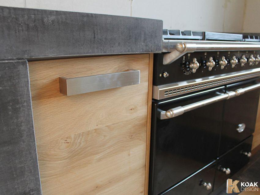 Koak keuken met ikea keuken kasten en een betonnen blad maken7 ...