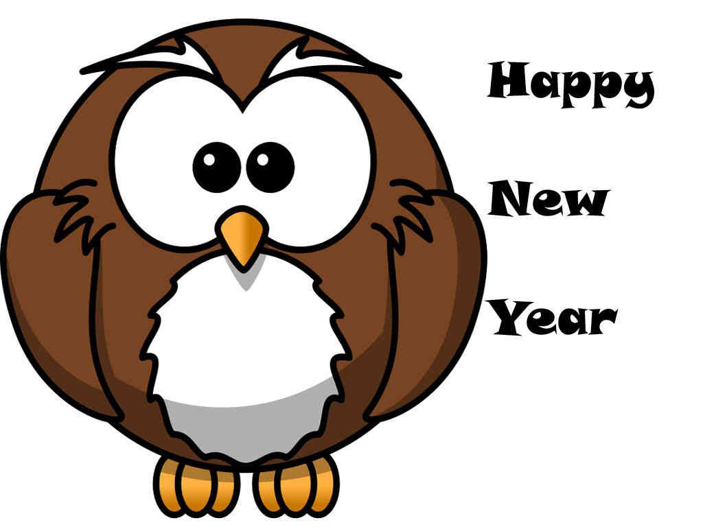 happy new year owls happy new years eve owl tawny owl