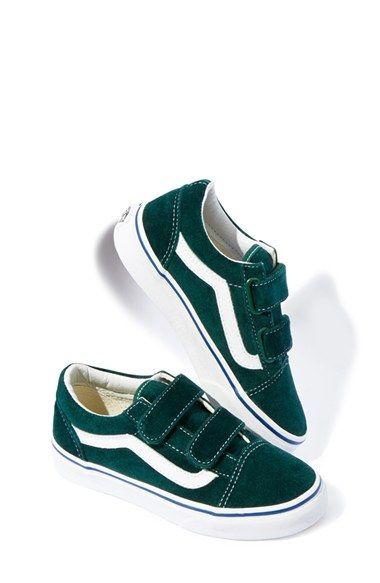 vans high tops kids Green