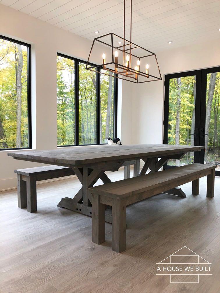 34+ A house we built farmhouse table type