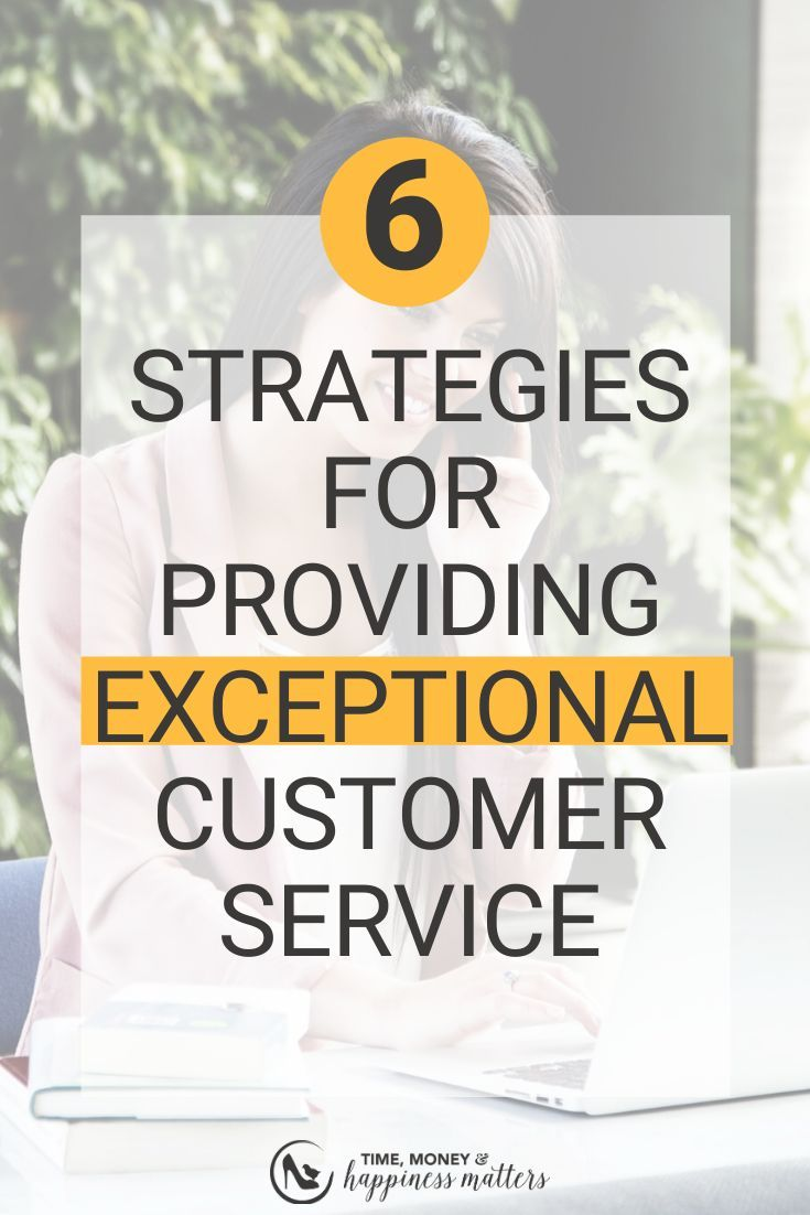 Have you ever dealt with a not so nice customer? Customer service should always be focused on solving the needs of your customers, not the needs of your own business. Click through to find 6 strategies and tips to help you build strong customer service skills and show your customer you're focused on their needs and not your own. #entrepreneurtips #customerservicetraining #clientattraction