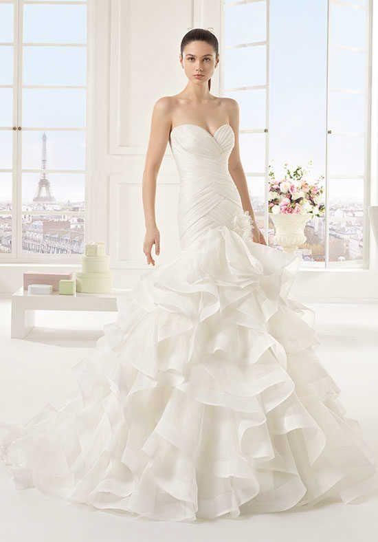 Two by Rosa Clará ESPARTA Mermaid Wedding Dress | Rainbow Wedding ...