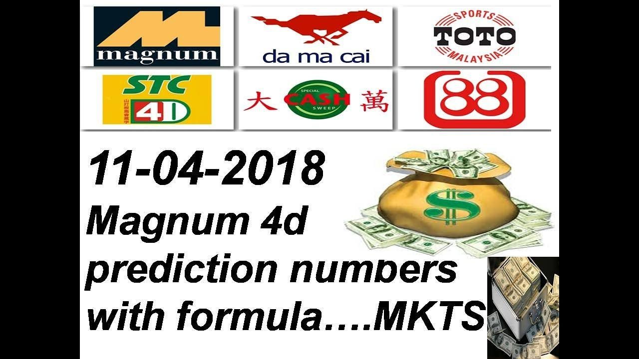 11-04-2018 magnum 4d prediction special numbers with formula