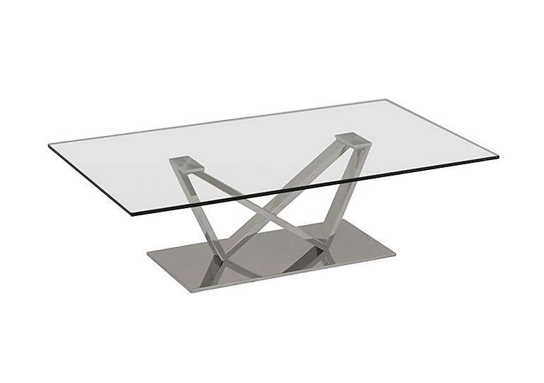 Western Coffee Table Glass And Steel Table Table