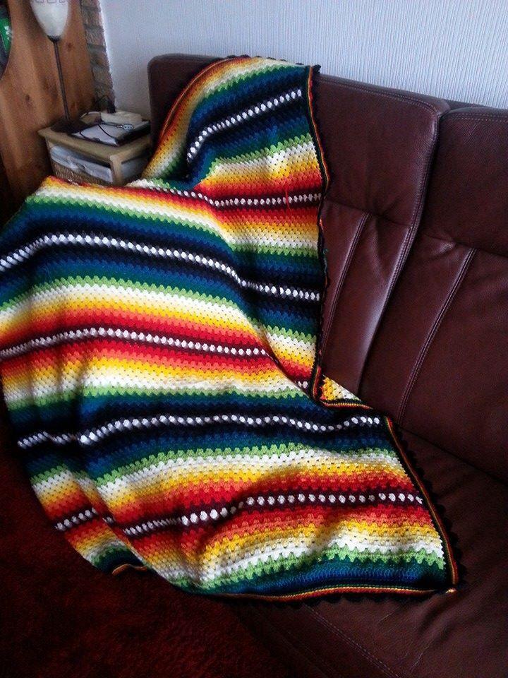 Mexican crochet blanket | Crochet | Pinterest | Gehäkelte decken ...