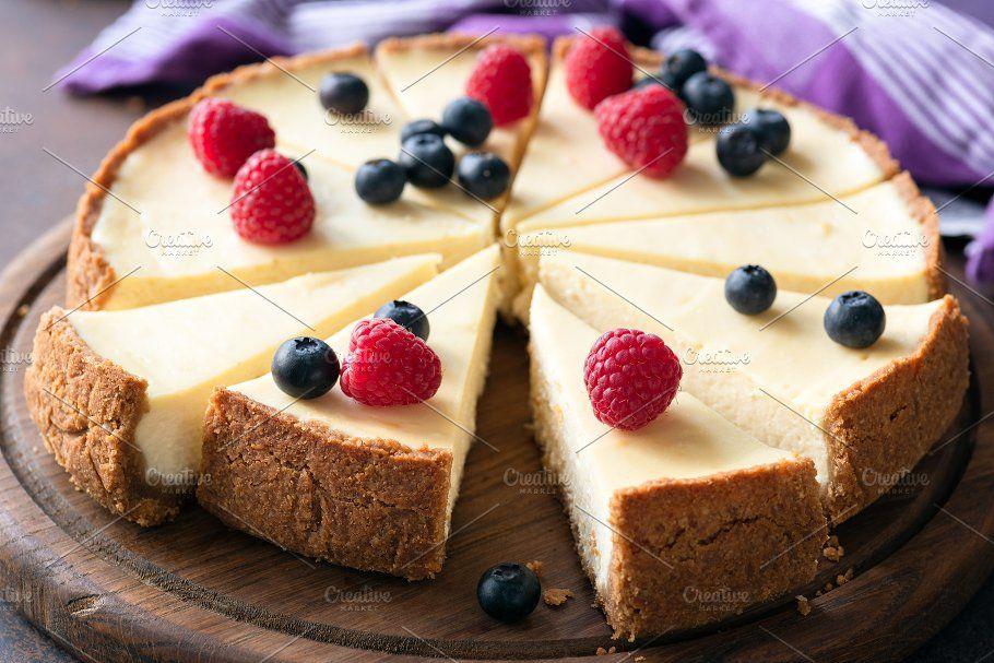 Classic plain New York Cheesecake Cheesecake, Cheesecake