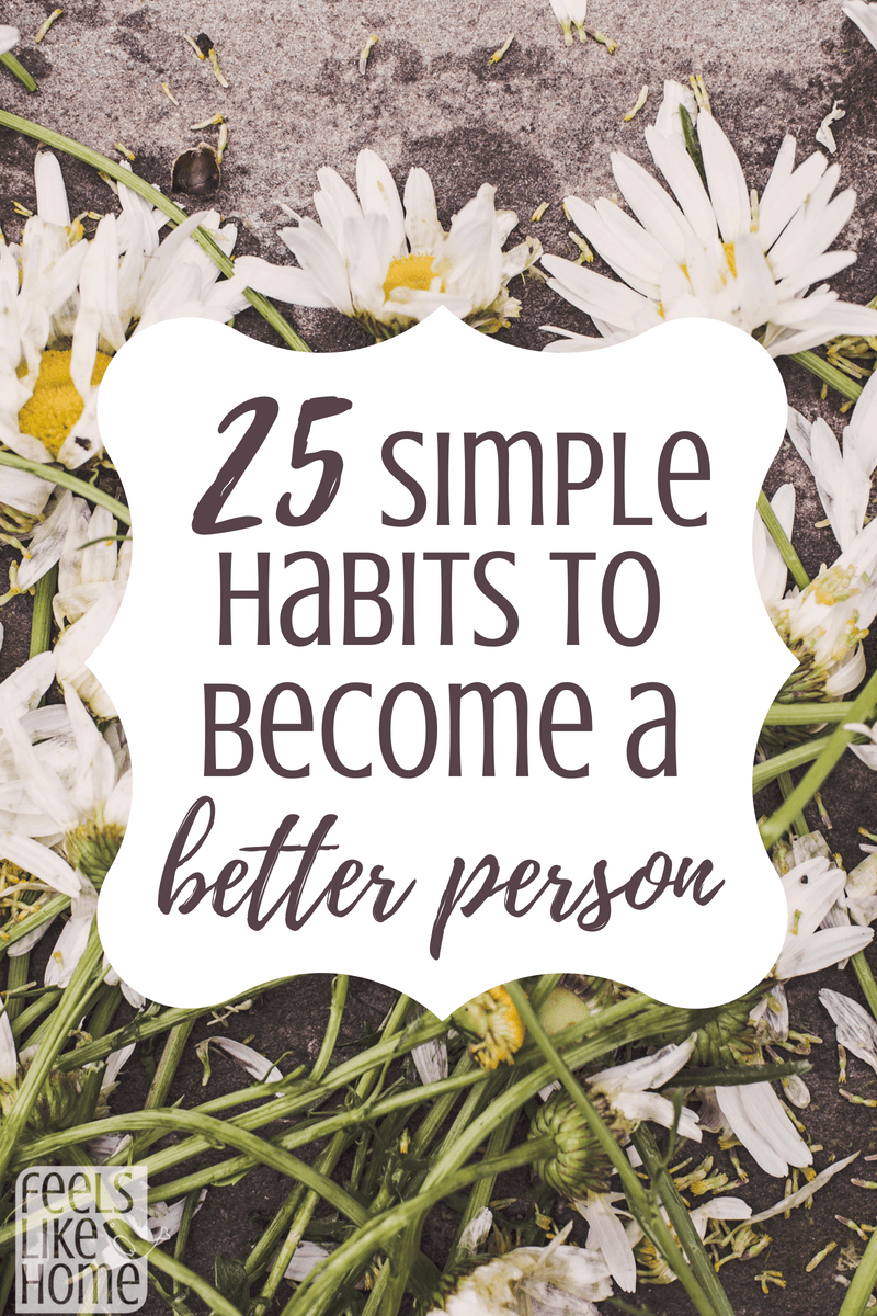 i want to become a better person